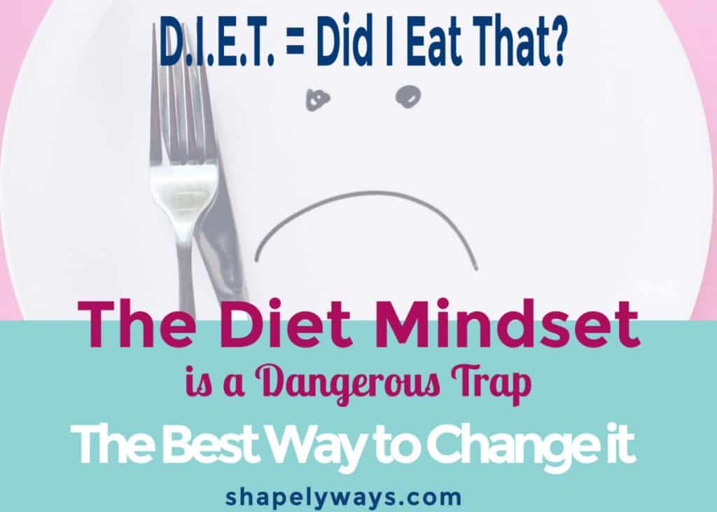 Mind set change to food freedom and weight loss