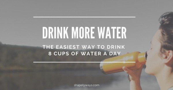 Easy Way to Drink More Water